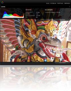 Screenshot Fotoblog