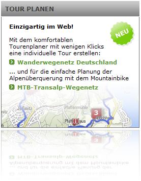 Tourplaner von outdooractive.com